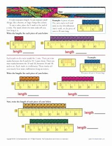 Reading A Metric Ruler Worksheet Inspirational How to Read A Ruler