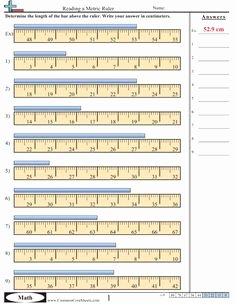 Reading A Metric Ruler Worksheet Lovely 1000 Images About Process Skills On Pinterest