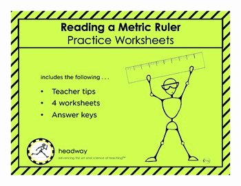 Reading A Metric Ruler Worksheet Lovely Reading A Metric Ruler Practice Worksheets by Headway Lab