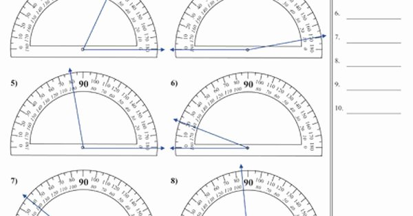 Reading A Protractor Worksheet Best Of Great Mon Core Worksheet Site School
