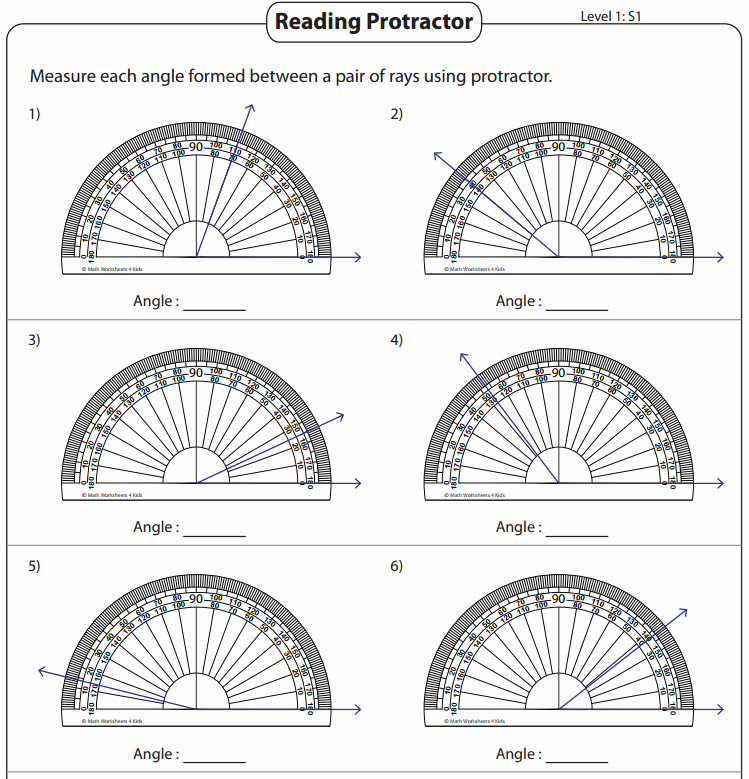 Reading A Protractor Worksheet Best Of Types Of Angles – St Agnes C E Primary School