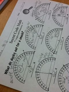 Reading A Protractor Worksheet Inspirational Using A Fun Little Sheet to the Kids Practicing Using