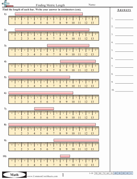 Reading A Ruler Worksheet Pdf Awesome Measurement Worksheets Mérés