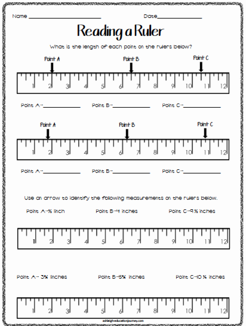 Reading A Ruler Worksheet Pdf Fresh Best 25 Measurement Worksheets Ideas On Pinterest