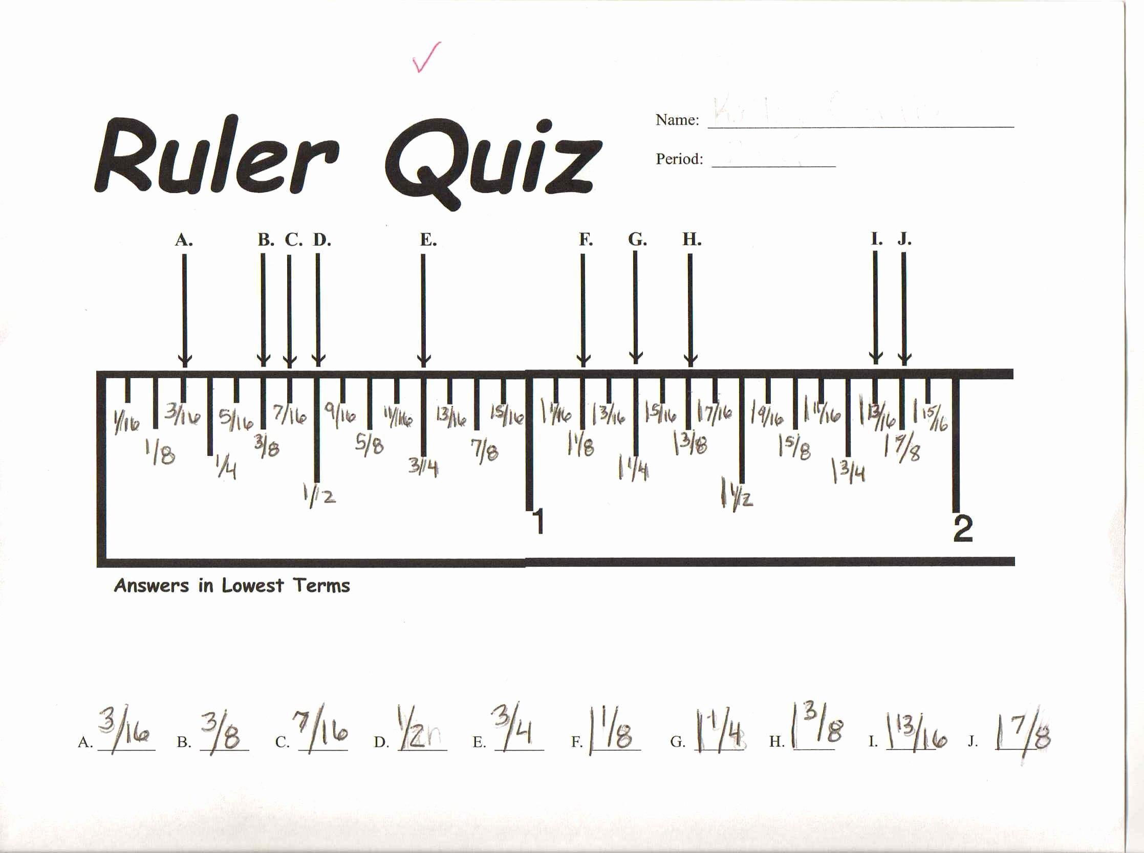 Reading A Ruler Worksheet Pdf Luxury How Do I… Trimmer Tricks Part E