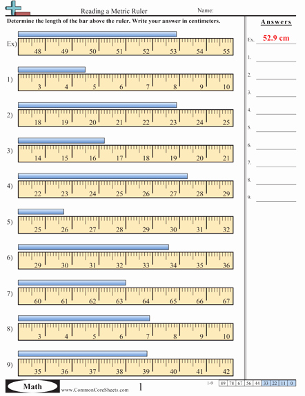 Reading A Tape Measure Worksheet Elegant Worksheet E More Measurement Worksheet Activities