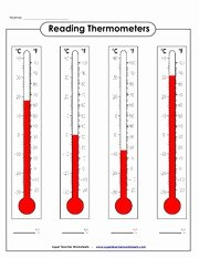 Reading A thermometer Worksheet Awesome Sect2 1 thermometer Worksheet Name Reading thermometers