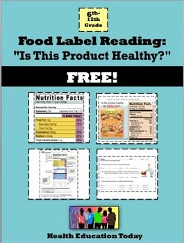 Reading Food Label Worksheet Unique 310 Best Images About Health Lessons for Teens On