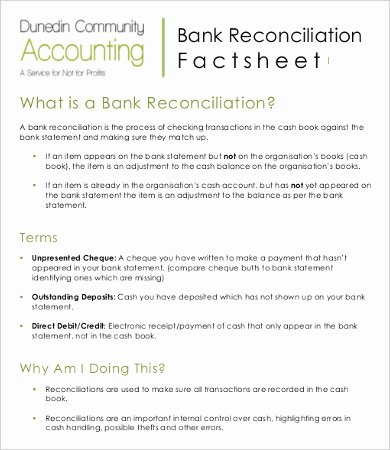 Reconciling A Bank Statement Worksheet Beautiful Bank Reconciliation Template 11 Free Excel Pdf