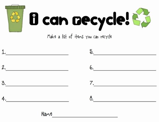 Reduce Reuse Recycle Worksheet Awesome Reduce Reuse Recycle Earth Day Activity – Supplyme
