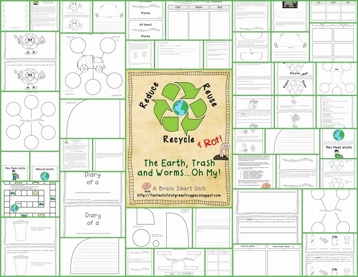 Reduce Reuse Recycle Worksheet Elegant 55 Reduce Reuse Recycle Worksheets Recycling Worksheet 1