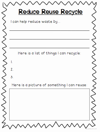 Reduce Reuse Recycle Worksheet Fresh the Army Wife Teacher Monthly Mash Up April