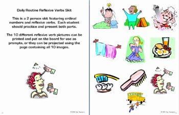 Reflexive Verbs Spanish Worksheet Awesome Spanish Reflexive Verbs Bundle Vocabulary 9 Worksheets