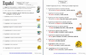 Reflexive Verbs Spanish Worksheet Best Of Spanish Reflexive Verbs Bundle Vocabulary 9 Worksheets