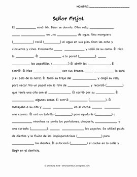 Reflexive Verbs Spanish Worksheet Unique Spanish Reflexive Verbs Daily Routine Rutina Diaria by