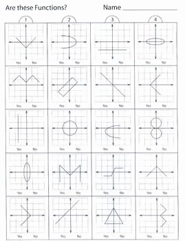 Relations and Functions Worksheet Inspirational Relations and Functions 1 Pencil Test