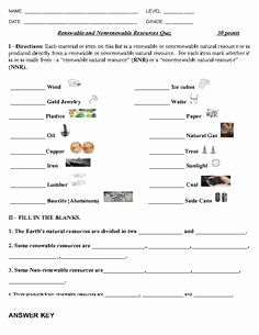 Renewable and Nonrenewable Resources Worksheet New the Wright La S Present A Renewable and Nonrenewable
