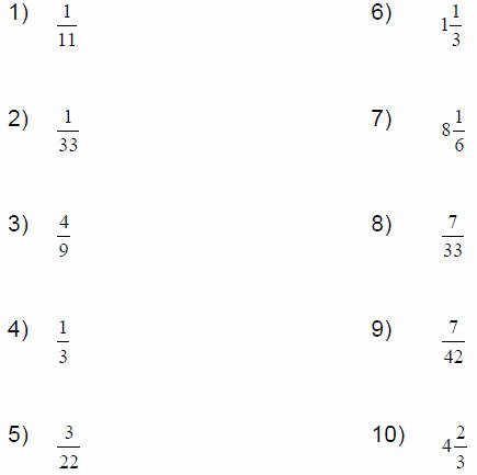 Repeating Decimal to Fraction Worksheet Beautiful Repeating Decimals to Fractions Worksheet Worksheets