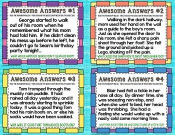 Restating the Question Worksheet Best Of Restate the Question Task Cards by Teaching with A