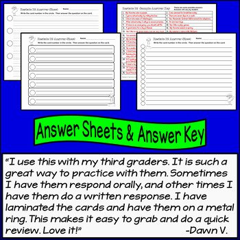 Restating the Question Worksheet Fresh Restate the Question Task Cards Beginning Set for Grades