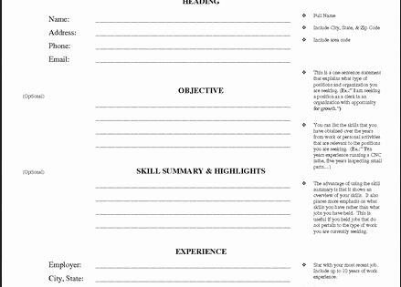 Resume Worksheet for Adults Awesome Printable Resume Worksheet Free Jobresumesample