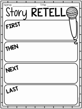 Retelling A Story Worksheet Awesome Free Reading Response Worksheets by My Teaching Pal