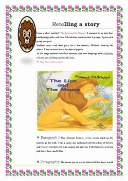 Retelling A Story Worksheet Best Of 13 Free Esl Retelling Worksheets
