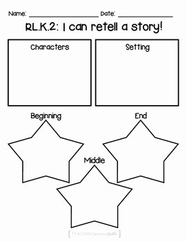 Retelling A Story Worksheet Best Of Free Kindergarten Rl K 2 Retelling A Story Worksheet