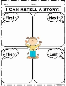 Retelling A Story Worksheet Elegant 24 Best Images About Graphic organizers On Pinterest