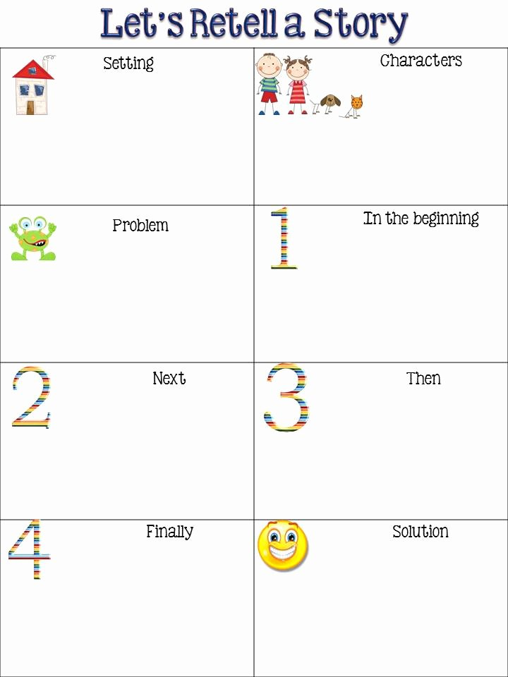 Retelling A Story Worksheet Fresh Freebielicious Retelling Chart