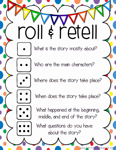 Retelling A Story Worksheet Luxury Free Read and Retell Game Homeschool Giveaways