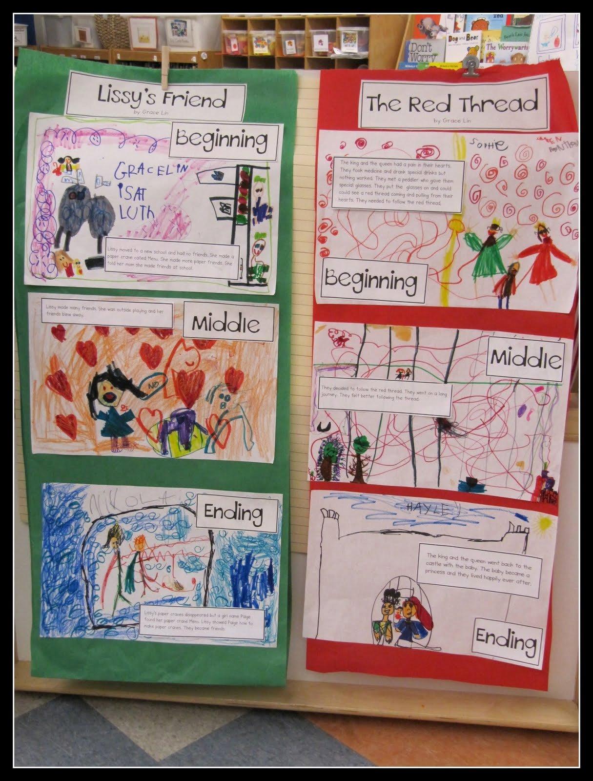 Retelling A Story Worksheet Unique Kc Kindergarten Times Retelling Grace Lin Books