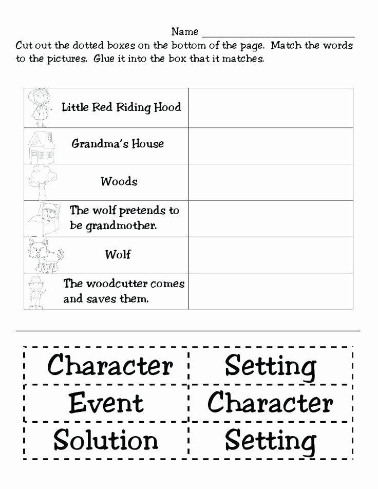 Retelling A Story Worksheet Unique Retelling A Story Worksheet Free Best First Grade Reading