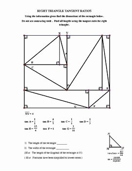 Right Triangle Trig Worksheet Answers New Right Triangle Trig Puzzler