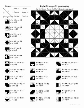 Right Triangle Trigonometry Worksheet Answers Fresh 11 Best Trigonometry Images On Pinterest