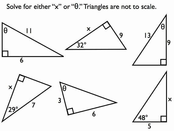 Right Triangle Trigonometry Worksheet Awesome Right Triangle Trig Worksheet