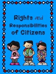Rights and Responsibilities Worksheet Beautiful Rights and Responsibilities Lesson Plans and Lesson Ideas