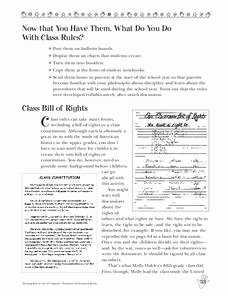 Rights and Responsibilities Worksheet Elegant Rights and Responsibilities Lesson Plans & Worksheets