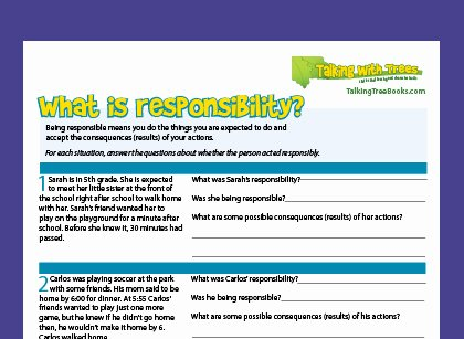 Rights and Responsibilities Worksheet Inspirational What is Responsibility Responsibility Definition for Kids