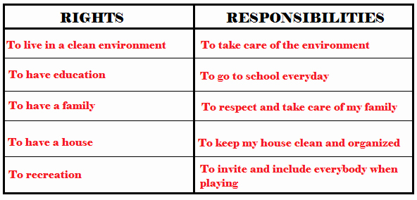Rights and Responsibilities Worksheet Lovely Third Grade social Stu S
