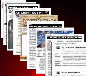 River Valley Civilizations Worksheet Answers Beautiful Ancient River Valley Civilizations Unit Ppts Worksheets
