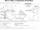River Valley Civilizations Worksheet Answers Lovely Ch2 4 River Valley Civ Skf