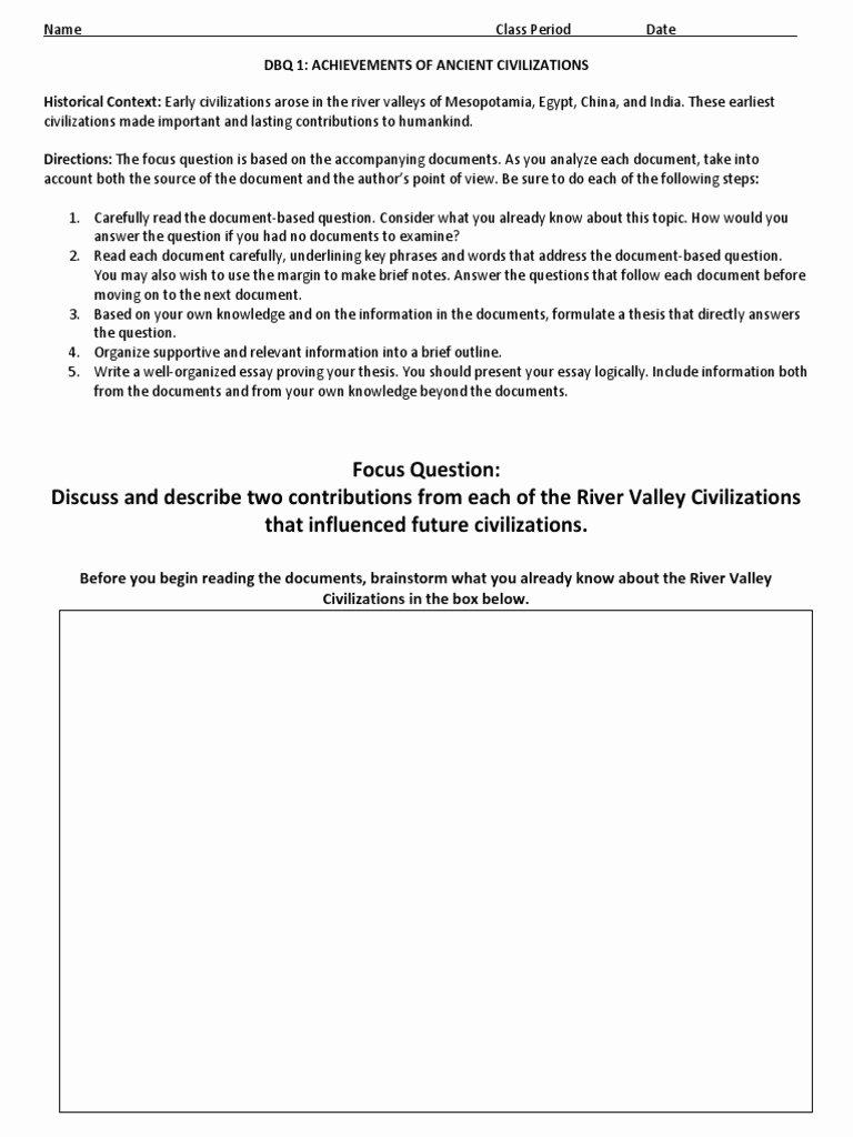 River Valley Civilizations Worksheet Beautiful River Valley Civilizations Worksheet Answer Key