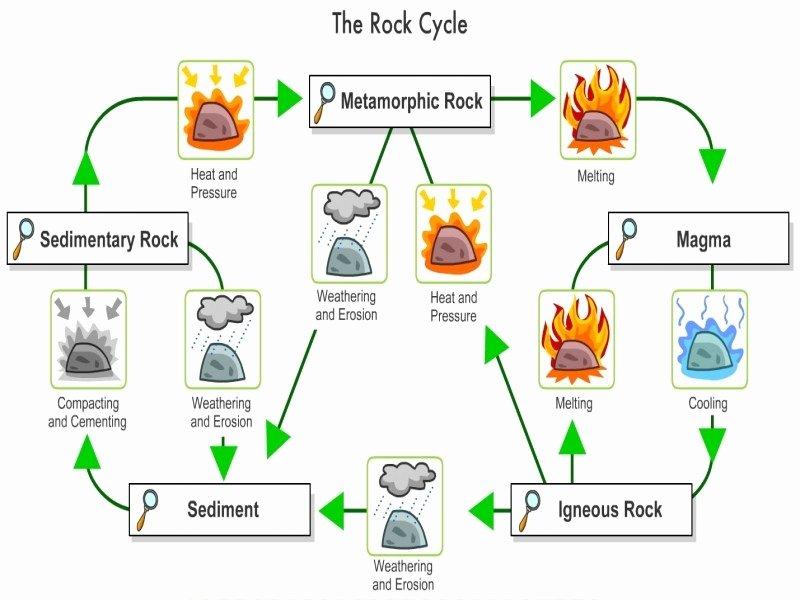 Rock Cycle Diagram Worksheet Awesome Rock Cycle Diagram Worksheet Free Printable Worksheets