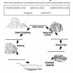 Rock Cycle Diagram Worksheet Elegant the Rock Cycle Teaching Stuff