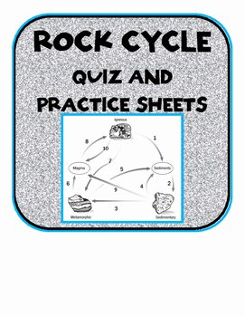 Rock Cycle Worksheet Answers Elegant Rock Cycle Quiz with Answer Key and Practice Worksheets by