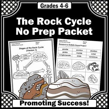Rock Cycle Worksheet Answers Fresh Rock Cycle Worksheets Types Of Rocks 4th Grade Science