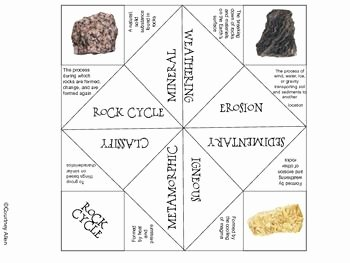 Rock Cycle Worksheet Middle School Inspirational Rock Cycle the Rock and Catcher On Pinterest