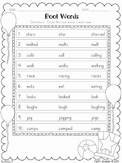 Root Words Worksheet Pdf Elegant Root Words and Abc order
