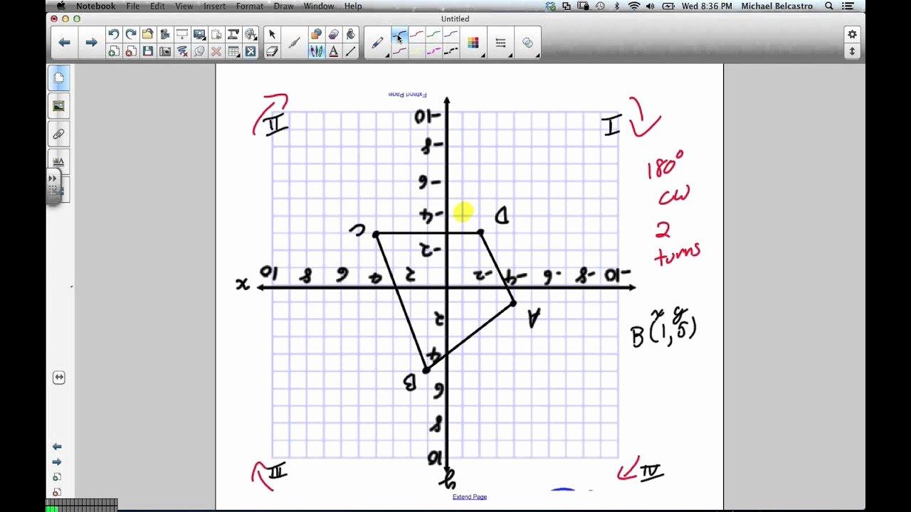 Rotations Worksheet 8th Grade Elegant Rotations Grade 8 Nelson Lesson 7 3 1 23 13